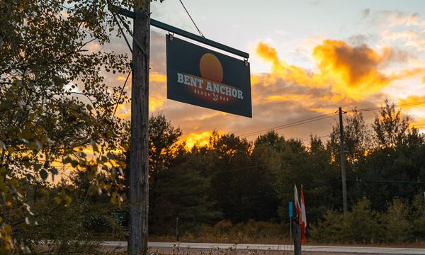 Bent Anchor sign