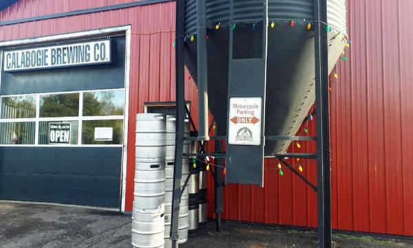 Calabogie Brewing Company Parking sign