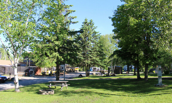 Campground grounds