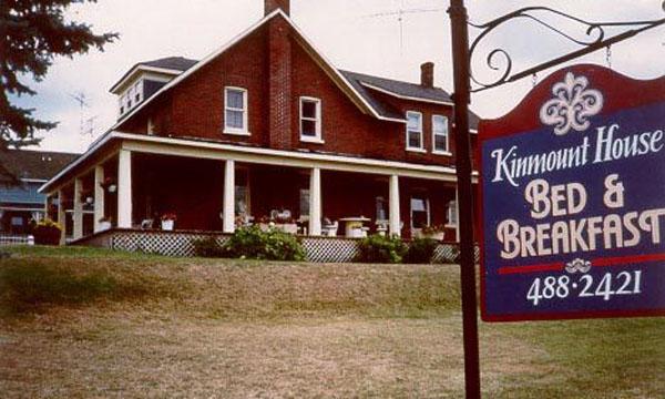 Kinmount House B&B