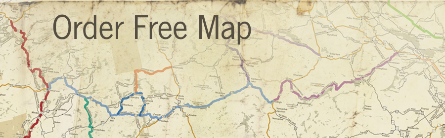 Ride the Highlands map